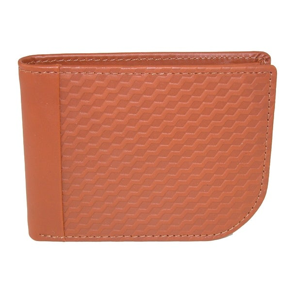 Buxton Men's Bellamy Leather RFID Protected Front Pocket C-Fold Wallet - One size