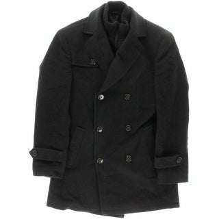Ralph Lauren Mens Pea Coat Wool Double Breasted