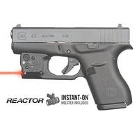 Viridian Reactor 5 Red Laser Sight For Glock 43 Featuring Ecr  Includes Hybrid Belt Holster
