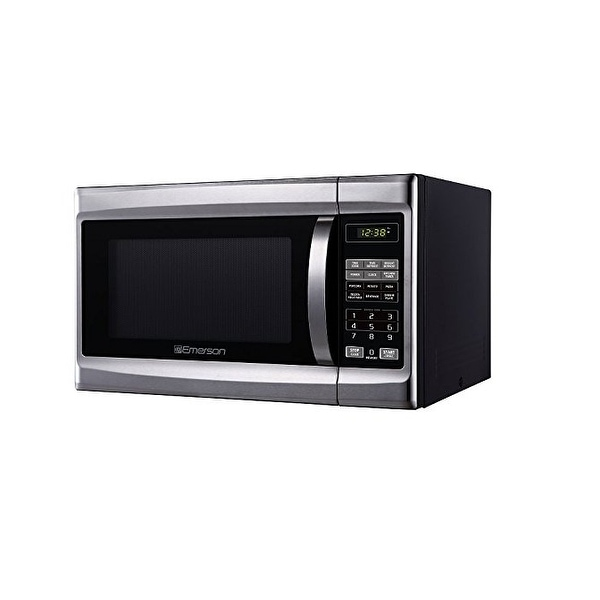 Emerson Radio Mw1338sb 1 3 Cu Ft 1000 W Touch Control Black Cabinent Microwave Oven