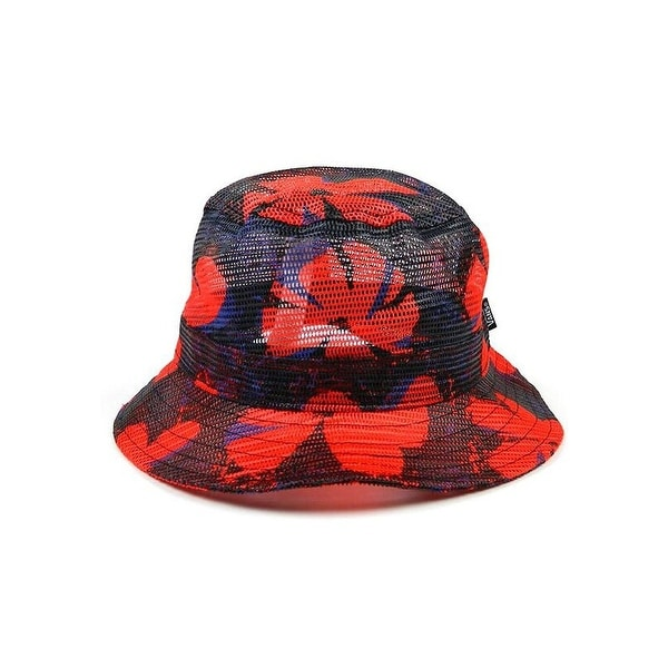 VANS Undertone Bucket Hat - Navy/Red - Small/Medium