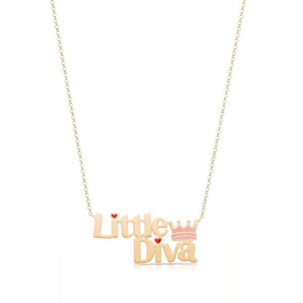 """Lily Nily Girl's """"Little Diva"""" Necklace"""