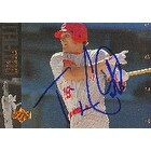 Tim Costo Cincinnati Reds 1994 Upper Deck Autographed Card  This item comes with a certificate of a