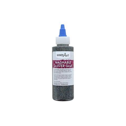 Handy Art Washable Glitter Glue 4oz Multi