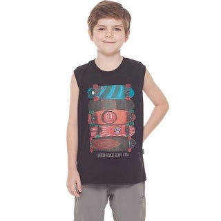 Boys Tank Top Graphic Muscle Shirt Kids Clothing Summer 2-10 Years Pulla Bulla