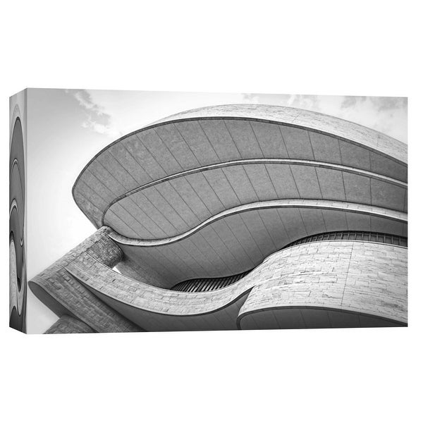 """PTM Images 9-103796 PTM Canvas Collection 8"""" x 10"""" - """"Museum of the American Indian Exterior 2"""" Giclee Buildings and Landmarks"""