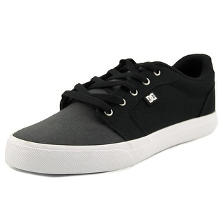 DC Shoes Anvil TX Men Round Toe Black Skate Shoe