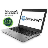 Refurbished HP 820G1, intel i5(4300U) - 1.9GHz, 16GB, 240GB SSD, W10 Pro,WiFi ( Refurbished)