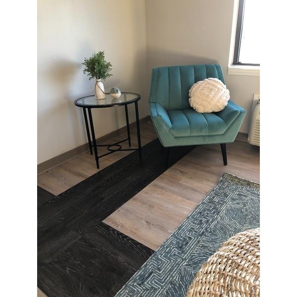 Alexander Home Aspen Denim Wool Hand Tufted Contemporary Area Rug On Sale Overstock 30533914
