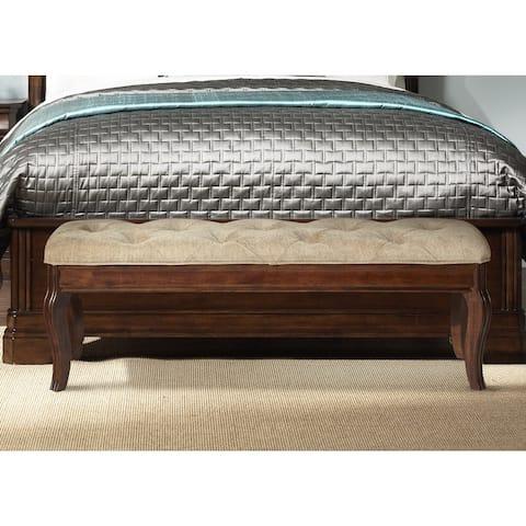 Alexandria Autumn Brown RTA Bed Bench