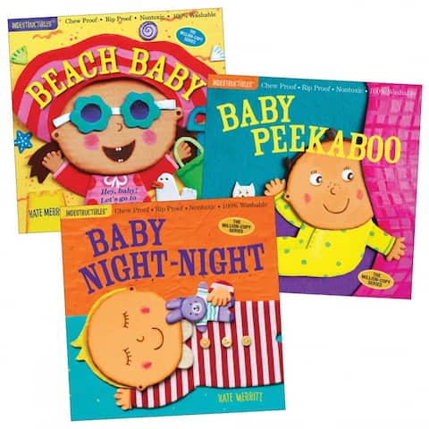 Indestructibles Baby Books - Set of 3
