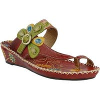 L'Artiste by Spring Step Women's Santorini Red Leather