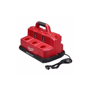 Milwaukee M18 & M12 Rapid Charger Station - Red