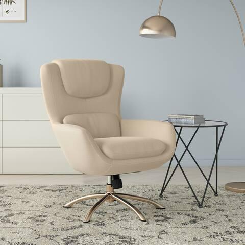 Carson Carrington Katlyn Modern Swivel Rocker Chair