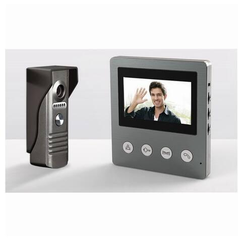 SeqCam 4.3 Inch Video Doorphone - Grey - One Size