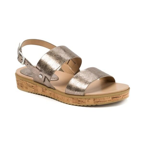 Andrew Geller Henise Women's Sandals & Flip Flops Old Silver