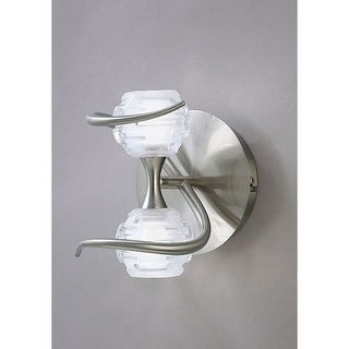 Mantra Lighting 0092SN Dali 2 Light Wall Sconce