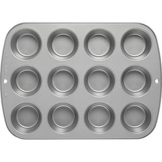 Wilton 2105-954 Recipe Right Non-Stick Muffin Pan, 12 Cup