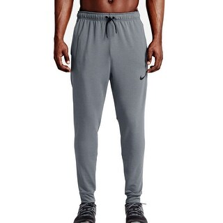 Nike Light Gray Mens Size 2XL Pull-On Logo Jogging Stretch Pants
