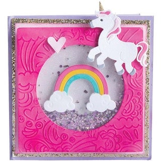 Unicorn & Rainbows - Sizzix Thinlits W/Textured Impressions By Lindsey & Jen