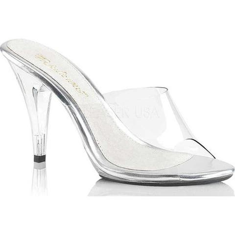 Fabulicious Women's Caress 401 Clear/Clear