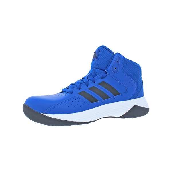 Adidas Boys CF Ilation Mid K Trainers Big Kid Cloudfoam - core royal core  black d0476713c
