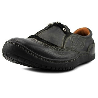 Kalso Earth Intone Women  Round Toe Leather Black Loafer
