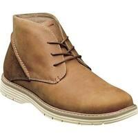 Nunn Bush Men's Littleton Plain Toe Chukka Boot Tan Leather