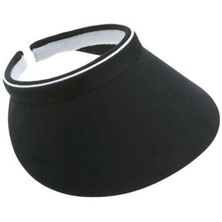 Ladies Clip On Visor-Black