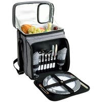 Picnic at Ascot Houndstooth Picnic Cooler for 2 (526-HT)