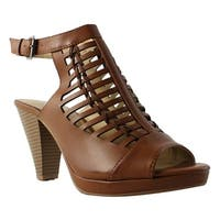 CL by Chinese Laundry Womens Waves Brown Ankle Strap Sandals Size 10