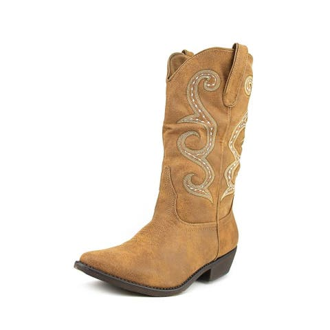 American Rag Womens DAWNN Pointed Toe Mid-Calf Cowboy Boots