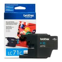 Brother LC71C Brother Innobella LC71C Standard Yield Ink Cartridge - Cyan - Inkjet - 300 Page - 1 Each