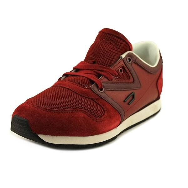 Diesel Boojik Men Leather Red Fashion Sneakers
