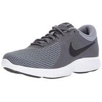 af5549acae2fd Shop Nike Men s Revolution 4 White Light Carbon-Pure Platinum ...