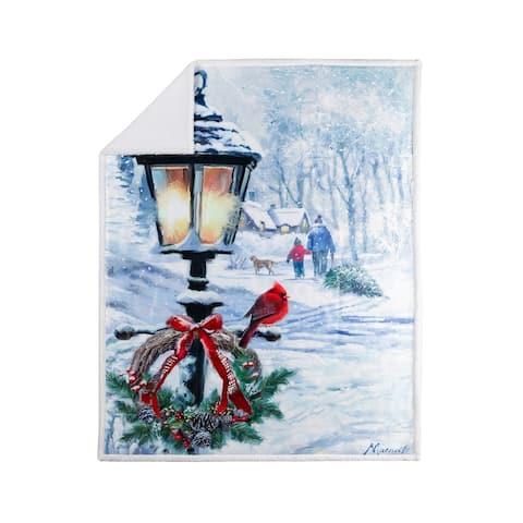 Throw Printed Christmas Lantern