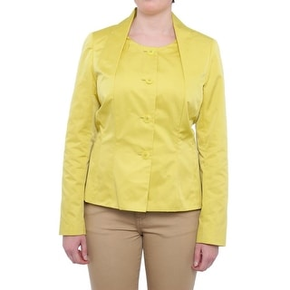 Lafayette 148 New York Belladonna Button Basic Jacket Basic Jacket