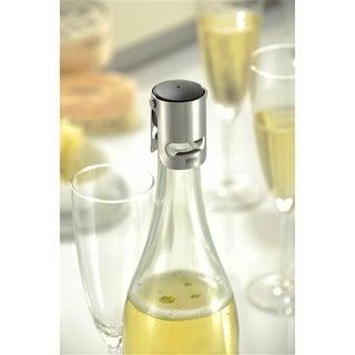 Gefu 12730 Sparking Wine Stopper, Silver