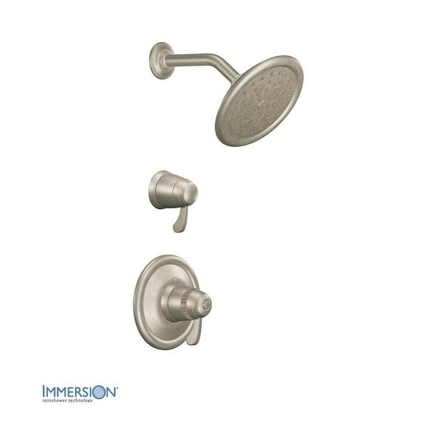 Shop Moen TS3400 Double Handle ExactTemp Thermostatic Shower Trim ...