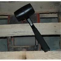 32 Oz. Rubber Mallet With Fiberglass Handle
