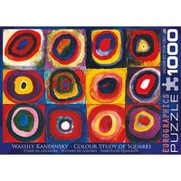 Wassily Kandinsky 1000 Piece Puzzle, 1,000 Piece Puzzles by Eurographics