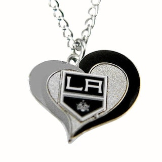 NHL Los Angeles Kings La Swirl Heart Necklace