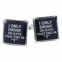 My Drinking Everyday Cufflinks