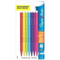 Paper Mate Sharp Writer#2 Mechanical Pencils, 7-Count, 0.7mm
