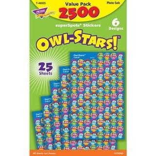 Owl Stars 2500Pk Super Spots