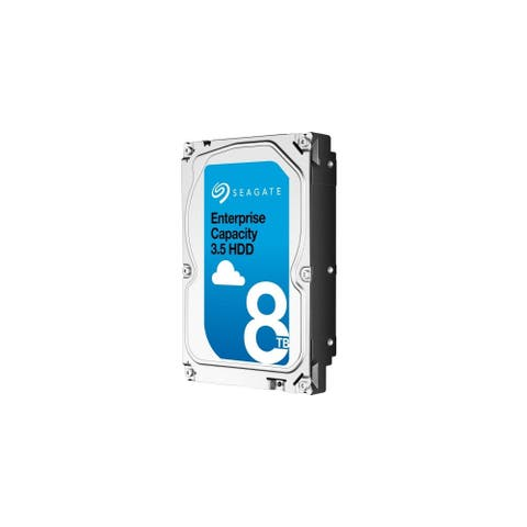 Seagate Technology ST8000NM0085 Seagate ST8000NM0085 8 TB 3.5 Internal Hard Drive - SAS - 7200 - 256 MB Buffer