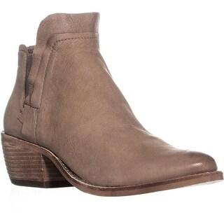 Dolce Vita Zabi Block Heel Ankle Boots, Light Taupe