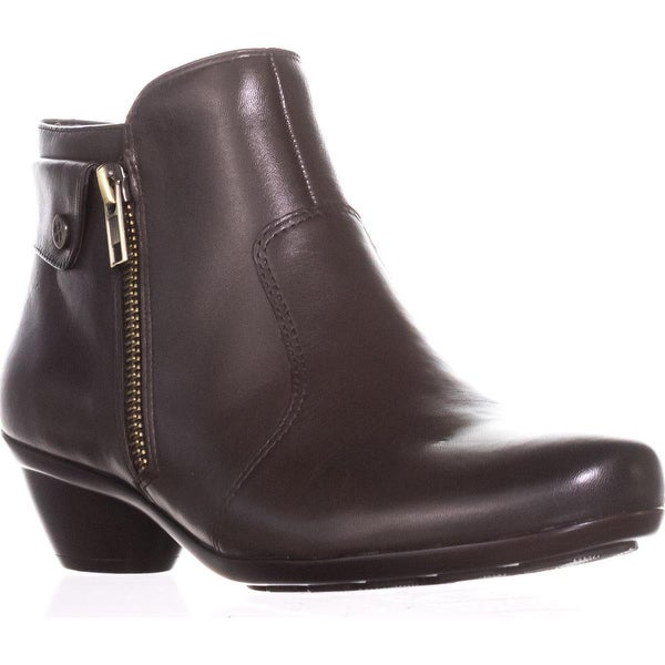 naturalizer Haley Comfort Ankle Boots, Oxford Brown