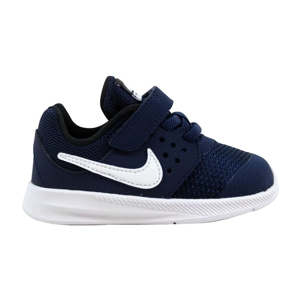 cce7bcd5e1d8 Shop Nike Downshifter 7 Midnight Navy White 869974-400 Toddler ...