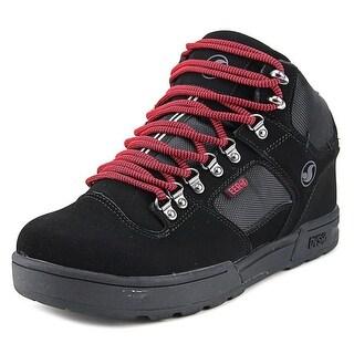 DVS Westridge Men Round Toe Leather Black Skate Shoe